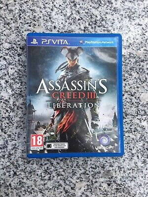 Ps Vita Assassin S Creed Iii Liberation Booklet 11 90