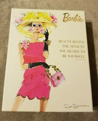Graphique Barbie Doll Notecards & Envelopes Boxed Set 4 Designs 20 Cards