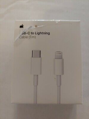 (Lot of 3)  Apple USB-C to Lightning Cable 1M MQGJ2AM/A Model A1703 box damage