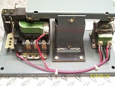 GE CR160MA3102A Lighting Contactor  with CR9500