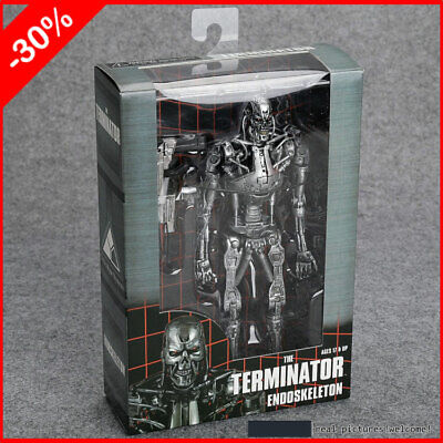 "The Terminator T- 800 Endoskeleton 7"" Action Figure Neca Lot Funko New in Box"