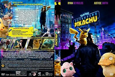 Pokemon Detective Pikachu(2019) DVD FAST SHIPPING!!! READ DESCRIPTION