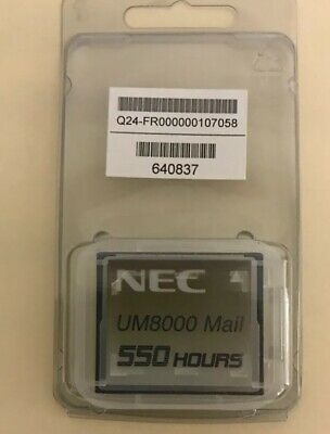 NEW NEC Univerge SV8100 Voice Mail 670837 UM8000 550 Hours Q24-FR000000107058