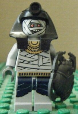 C905T Lego Pharaoh/'s Quest Mummy Warrior Minifigure with Pike 7325 NEW