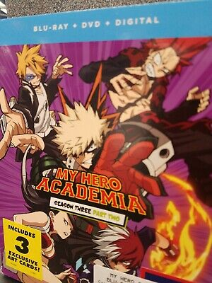 MY HERO ACADEMIA: Season Two 2 Part One 1 (Blu-ray DVD, 2018