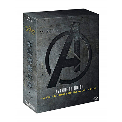 Avengers Collection (5 Blu-Ray)  [Blu-Ray Nuovo]