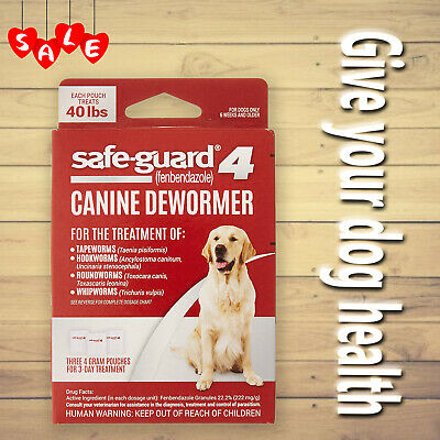 Excel Hot 8in1 Safe-Guard Canine Dewormer for Dogs, 3-Day Treatment