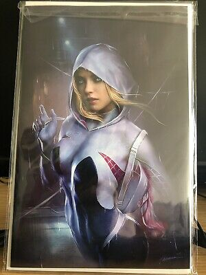 Spider-Gwen Ghost Spider Vol 2 #1 Shannon Maer Trade + Virgin Variant