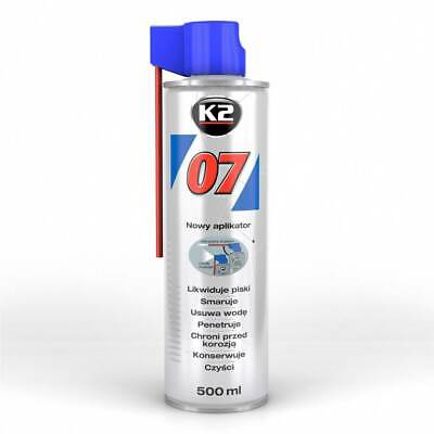K2 07 Multifunktionsspray Schmieröl Kontaktspray Rostlöser 0750 - 500ml