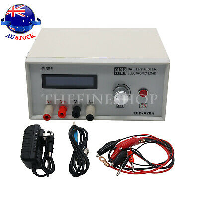 EBD-A20H Battery Capacity Tester Discharge Electronic Load 0.1-20A 200W 12V -AU