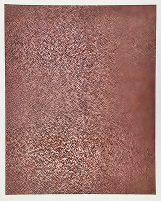 Cowhide Leather Blush Pink  50 cm x 40 cm 2.5 mm Thick Mottled Effect Soft Feel