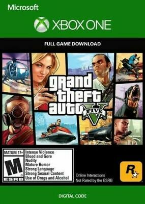 Grand Theft Auto V GTA 5 Region FREE Key (Xbox One)
