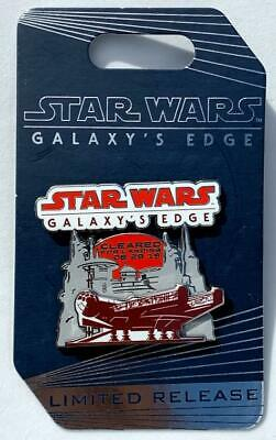 Disney Star Wars Galaxy's Edge Opening Day Cleared For Landing 8.29.19 Lr Pin