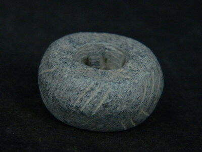 Ancient Stone Bead/Spindle Whorl Gandharan/Gandhara 100 AD No Reserve  #STN666