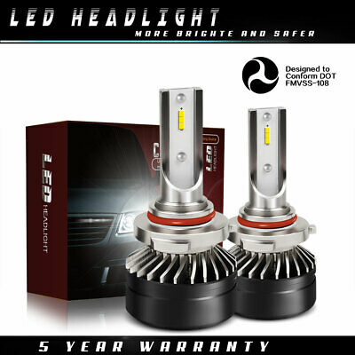9006 HB4 LED Headlights Bulbs DOT 12000LM Kit Low Beam 6000K White Light DT56