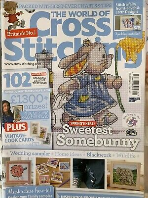 Issue 202 The World of Cross Stitching Magazine 102 Designs BR650