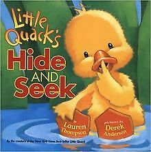 Little Quack's Hide and Seek de Lauren Thompson | Livre | état bon