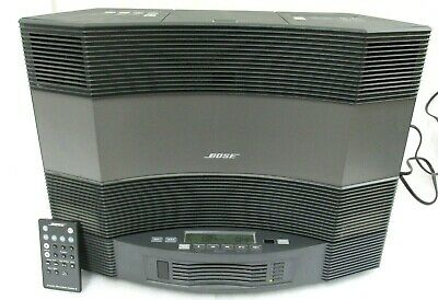 BOSE ACOUSTIC WAVE MUSIC SYSTEM II w/ BOSE ACOUSTIC WAVE II CD CHANGER & DOCK