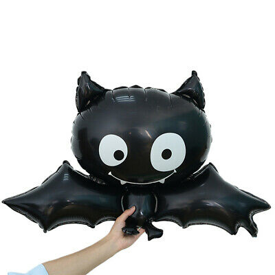 partido Animal Los juguetes de los cabritos Black bat Halloween Foil Balloon
