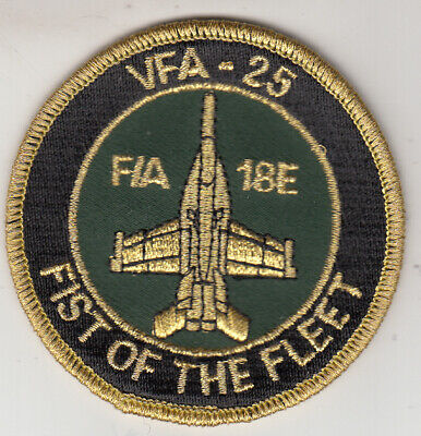Vfa-25 Fist Of The Fleet F/A-18E Shoulder Patch