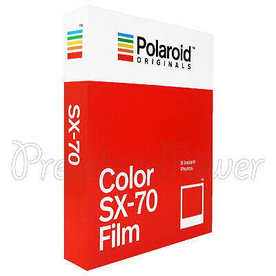 Polaroid Originals Color SX-70 Films Instant photos Vintage Polaroid SX-70 BX8