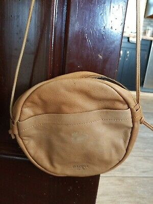 Jones New York Womens Margot Brown Faux Leather Backpack