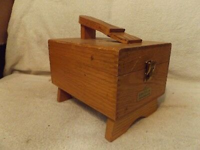 "Vintage Shoe Shine Kit Griffin Shoe Shine Box 11"" Long-Very Nice-Great Patina"