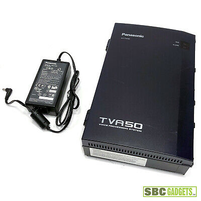 Panasonic KX-TVA50 Phone Voice Processing System Voice Mail w/ Power Adapter