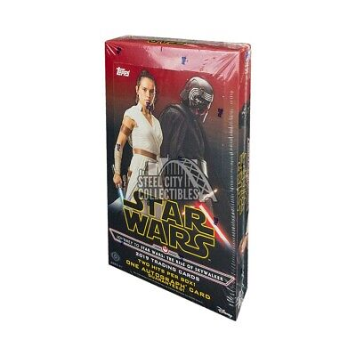 2019 Topps Star Wars Journey to Rise of Skywalker Hobby Box PRESALE 10/4/19
