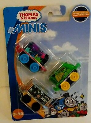 Thomas /& Friends MINIS New and Sealed Single Train Blind Bag Mermaid Belle