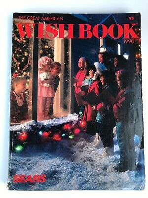 VINTAGE SEARS CATALOG Christmas Wish Book 1990 Toys Games Clothes Gifts