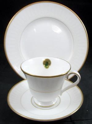 Waterford LISMORE Trio Salad Plate, Cup, Saucer GREAT CONDITION w/Tags