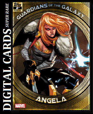 Topps Marvel Collect Card Trader Guardian Of The Galaxy 2Nd Printing Angela