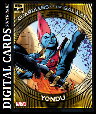 Topps Marvel Collect Card Trader Guardians Of The Galaxy 2Nd Printing Yondu
