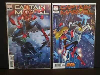 CAPTAIN MARVEL #9 NM+ Cover A & B Variant 1st Star 2019 Marvel Comics