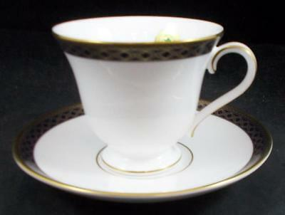 Waterford POWERSCOURT Footed Cup & Saucer SHOWROOM INVENTORY A+ CONDITION w/Tags