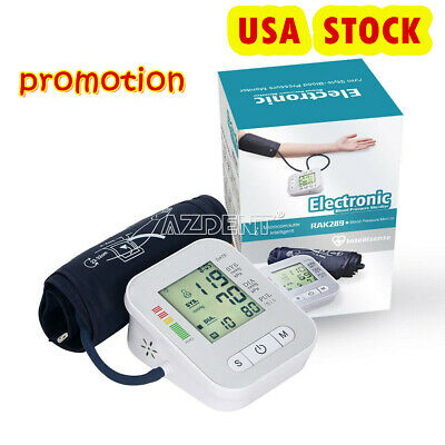 Rechargeable Auto Wrist LCD Digital Screen Voice Blood Pressure Pulse Monitor