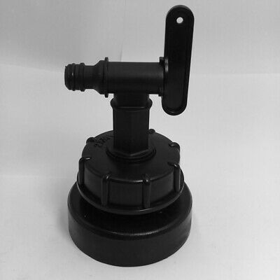 """Adapter 2 /"""" 50 mm   Schlauchtülle IBC  container Pool  Pumpe Anschluss"""