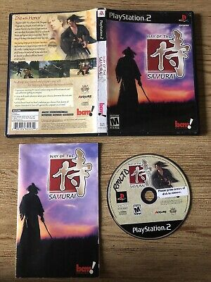 Way Of The Samurai - Ps2 (Playstation 2) Complete W/box @ Manual !