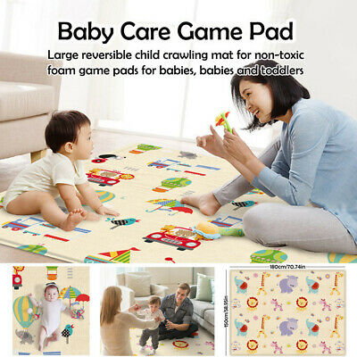 Baby Care Game Pad - Large Thicken  Reversible Child Crawling Mat For Non-toxic
