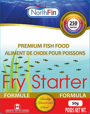 NorthFin Fry Starter 100% Whole Antarctic Krill 250 microns powder for all fish