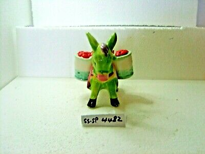 donkey with panniers  salt and pepper shakers