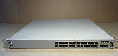 Nortel BayStack 5520-24T-PWR PoE Power over Ethernet Switch