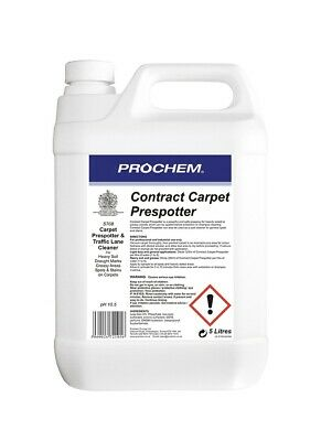 Prochem S708-05 Contract Carpet Prespotter  5L, slightly dusty bottle