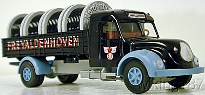 Wiking NEW HO 1//87 Scale 40//50/'s era Magirus Sirius 2-axle MILK delivery truck