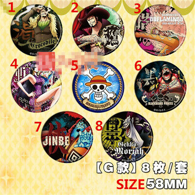 "2.3/"" Anime ONE PIECE badges Pins Schoolbag 5.8CM"