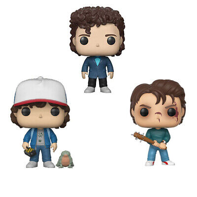 NEW FUNKO POP Stranger Things Steve Dustin Action Vinyl Figure Model Toys
