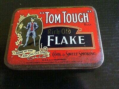 """Tom Tough"" Tobacco Tin"