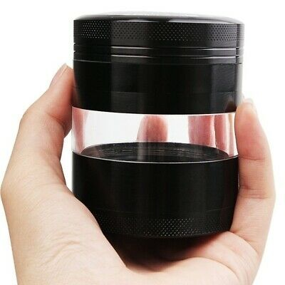 5 LayerS 3.25IN Herb Grinder Spice Tobacco/Weed Smoke Metal Crusher Leaf Design
