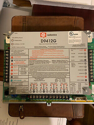 BOSCH D9412GV2 COMMERCIAL Protected Premises Control Panel ... on